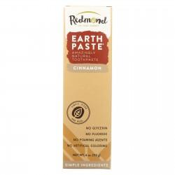 Redmond Trading Company Earthpaste Natural Toothpaste Cinnamon - 4 oz