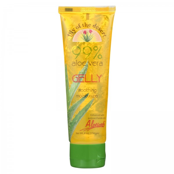 Lily of the Desert Aloe Vera Gelly Soothing Moisturizer - 4 oz