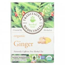 Traditional Medicinals Organic Ginger Tea - 16 Bags