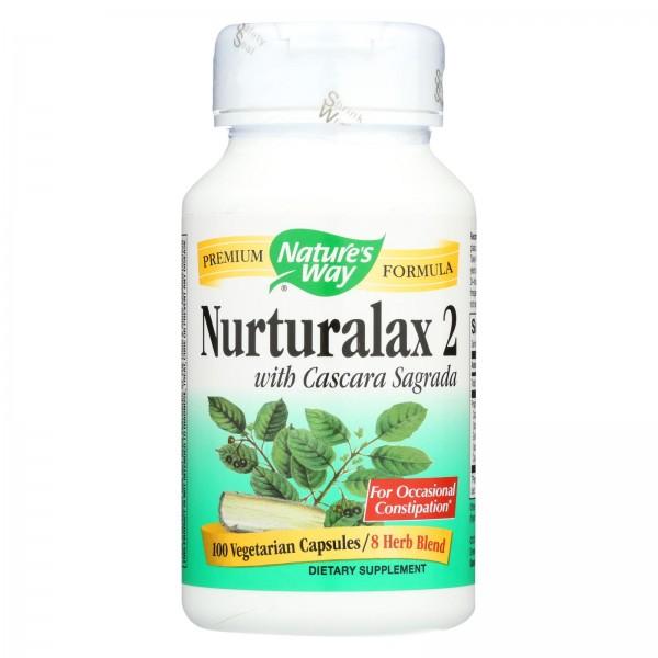 Nature's Way Naturalax 2 with Cascara Sagrada - 100 Vcaps