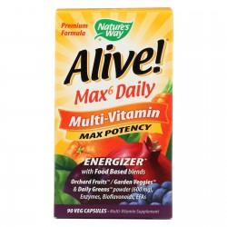Nature's Way Alive Multi-Vitamin - 90 Vcaps