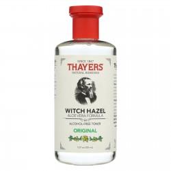 Thayers Witch Hazel with Aloe Vera Original Alcohol Free - 12 fl oz