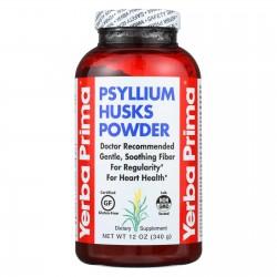 Yerba Prima Psyllium Husks Powder - 12 oz