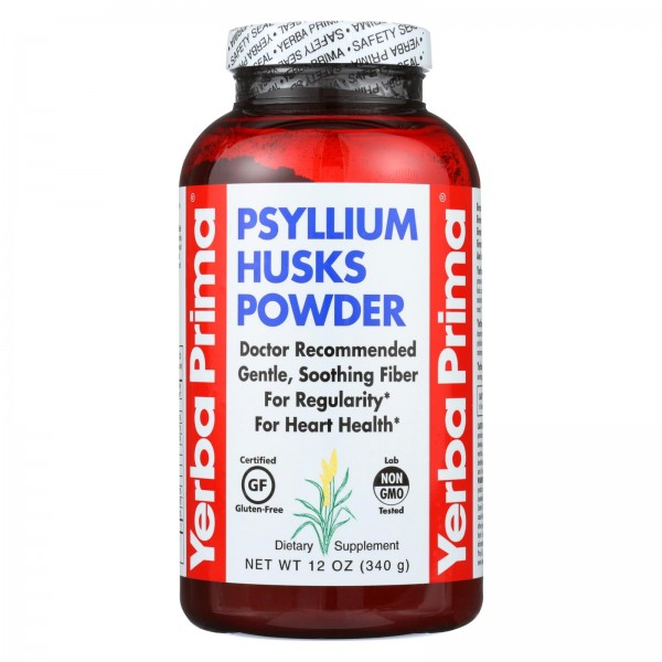 Yerba Prima Psyllium Husks Powder - 12 oz