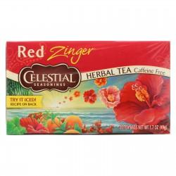 Celestial Seasonings Herbal Tea - Caffeine Free - Red Zinger - 20 Bags