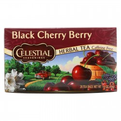 Celestial Seasonings Herbal Tea - Black Cherry Berry - Caffeine Free - 20 Bags