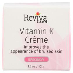 Reviva Labs Vitamin K Cream - 1.5 oz
