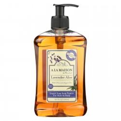 A La Maison French Liquid Soap - Lavender Aloe - 16.9 fl oz