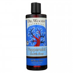 Dr. Woods Pure Castile Soap Peppermint - 16 fl oz