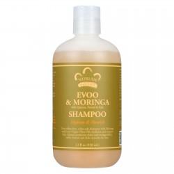 Nubian Heritage Shampoo - EVOO and Moringa - Repair and Extend - 12 oz