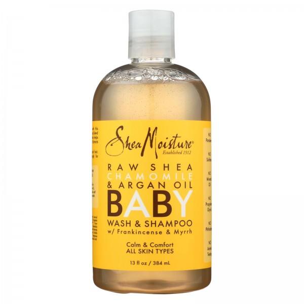 SheaMoisture Baby Head-To-Toe Wash and Shampoo Raw Shea Chamomile and Argan Oil - 12 fl oz