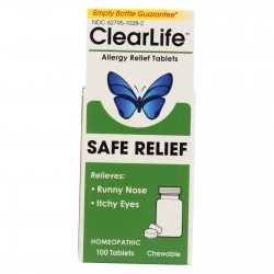ClearLife Tablets - Allergy Relief - 100 Tablets