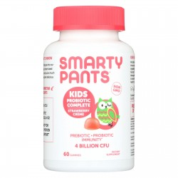 Smartypants Kids Probiotic - Straw Creme - 60 count