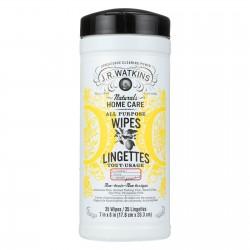J.R. Watkins All Purpose Wipes Lemon - 35 Wipes