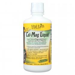 Vital Earth Minerals Cal-Mag - Liquid - 32 oz