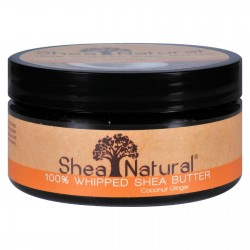 Shea Natural Whipped Shea Butter Coconut Ginger - 6.3 oz