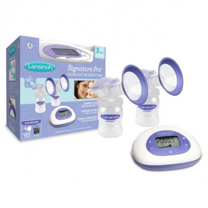 evenflo elan nursing system advanced digital dual breast pump