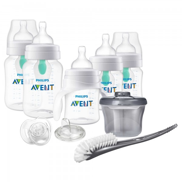 Philips Avent Anti-colic Bottle with AirFree vent Gift Set Beginner Set