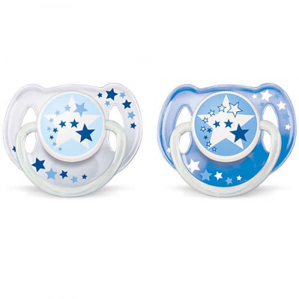 Avent Night time pacifier 6-18m