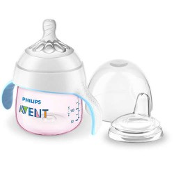 Philips Avent My Natural Trainer Sippy Cup 5oz - Pink