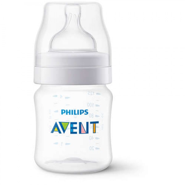 Philips Avent 4 oz. Anti-Colic Bottle in Clear