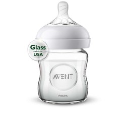 Philips Avent Natural 4 oz. Glass Bottle