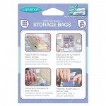 Lansinoh Breastmilk Storage Bags With Convenient Pour Spout and Patented Double Zipper Seal, Ideal for Storing and Freezing Breastmilk, 50 Count, Includes 2 FREE Pump Adapters, BPA and BPS Free