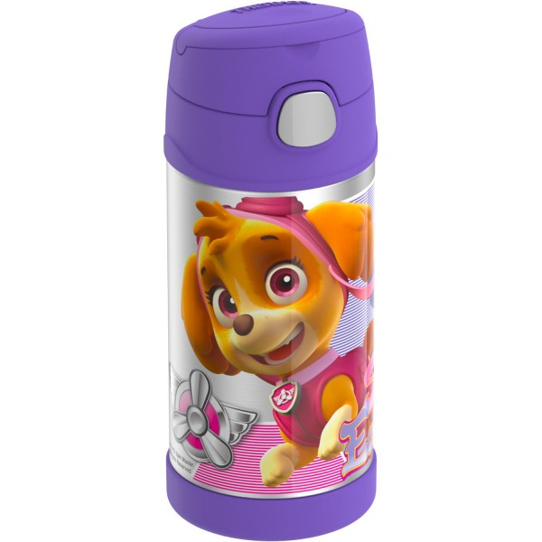 Thermos FUNtainer® Vacuum Insulated Stainless Steel Bottle 12oz PAW Patrol Girl