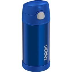 Thermos FUNtainer® Vacuum Insulated Stainless Steel Bottle 12oz Blue