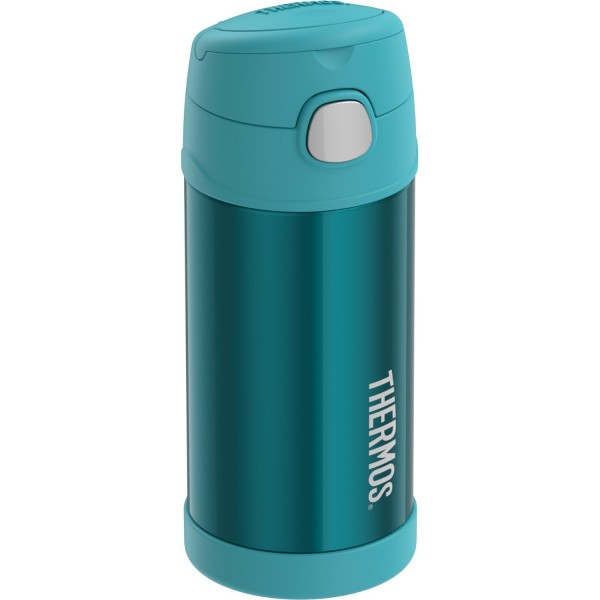 Thermos FUNtainer® Vacuum Insulated Stainless Steel Bottle 12oz Teal