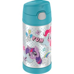 Thermos FUNtainer® Vacuum Insulated Stainless Steel Bottle 12oz My Little Pony